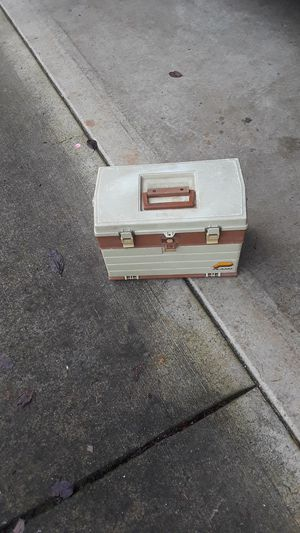 Fishing trout tackle box for Sale in Vancouver, WA