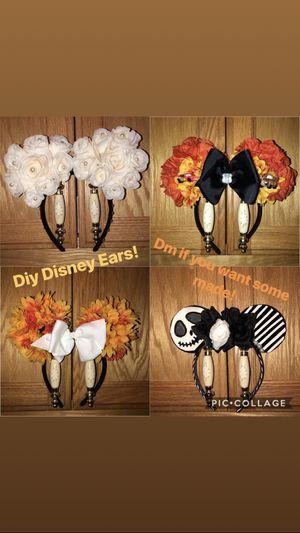 Custom Disney ears ! for Sale in Rio Vista, CA
