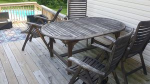 Teak patio furniture for Sale in Troy, IL
