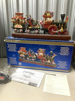 MR CHRISTMAS SANTA' S EXPRESS GOLD LABEL COLLECTION for Sale in Vallejo, CA