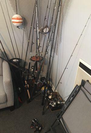Fishing rods/reels — make offer for Sale in Lantana, FL