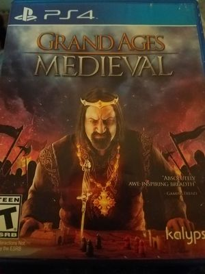 Ps4 Grand Ages Medieval for Sale in Lake Stevens, WA