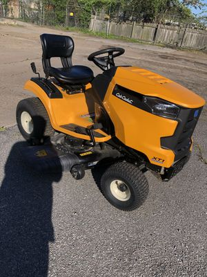 Cub Cadet Riding Mower comes lawn sweeper for Sale in Portsmouth, VA