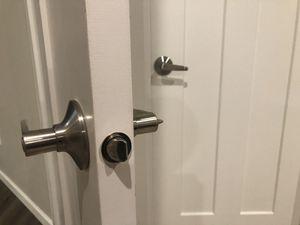 10 Interior door handles. Brushed nickel. OBO for Sale in Tacoma, WA
