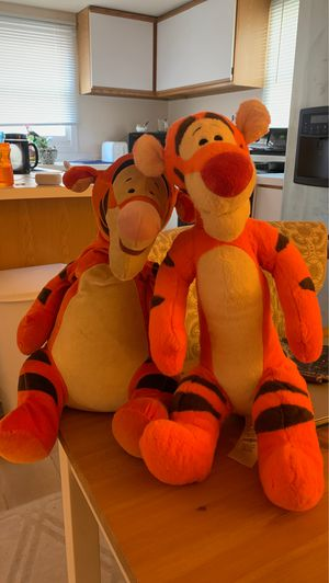 Vintage and newer Disney Tigger's for Sale in Bethesda, MD