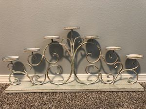 Centerpiece Candle Holder for Sale in Bonney Lake, WA