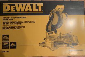 """10"""" DEWALT COMPOUND MITER SAW.... for Sale in Sandy, UT"""