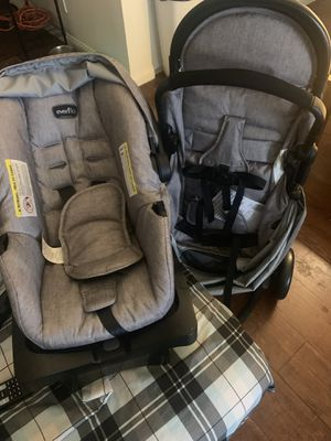 Never used Even flo stroller with infant car seat for Sale in Los Angeles, CA