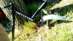 Cannondale Full Suspension Bike Frame with Fork & More for Sale in Salt Lake City, UT