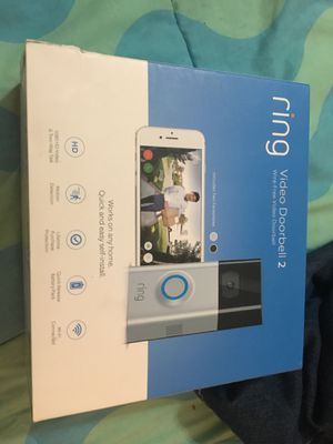 Ring video doorbell 2 for Sale in Tampa, FL