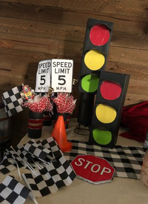 Mickey Racer Birthday Party supplies for Sale in Jurupa Valley, CA