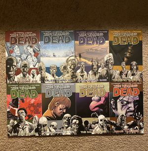 The Walking Dead Graphic Novel Comics 1-8 for Sale in Converse, TX