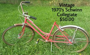 1970's Schwinn Collegiate Bicycle for Sale in Harbor Springs, MI