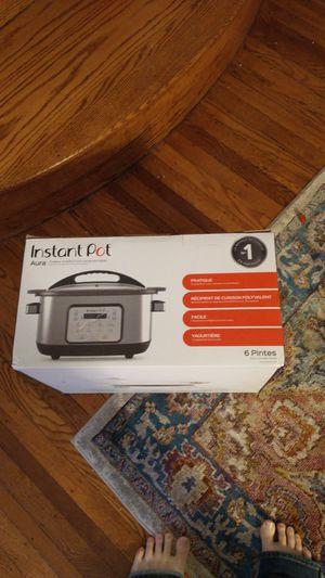 New in box instant pot aura sous vide etc for Sale in Philadelphia, PA