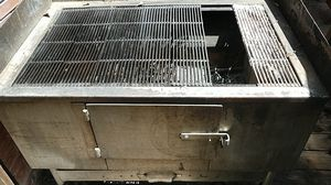 Bbq heavy duty stainless steel BBq barbecue 4 x 3 ft for Sale in Miami, FL
