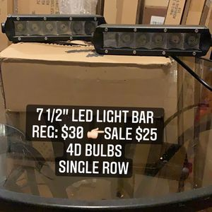 Led Light Bar Quads Rzr Can Am Offroad for Sale in Ontario, CA