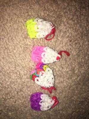 Cupcake rainbow loom charms for Sale in Alexandria, VA
