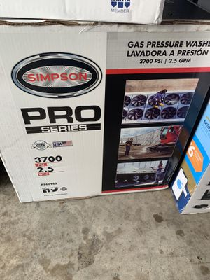Simpson pressure washer for Sale in Houston, TX