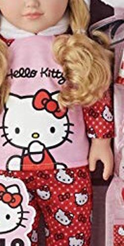 My Life As Hello Kitty Doll, Blonde Hair 18 Posable, 9 Piece Set for Sale in Brooklyn,  NY