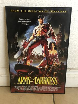 Poster - Army of Darkness for Sale in Los Angeles, CA