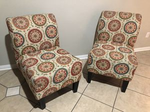Accent chairs (2) for Sale in Fontana, CA