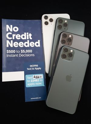 Iphone 11 Pro Max 256gb unlocked like new for Sale in Seattle, WA