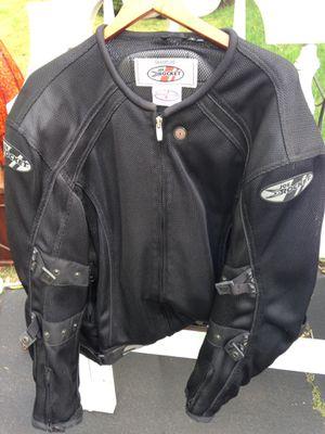 Joe rocket Motorcycle jacket with Harley Davidson logos for Sale in Darien, CT