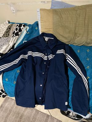 Adidas navy blue jacket for Sale in Fountain Valley, CA