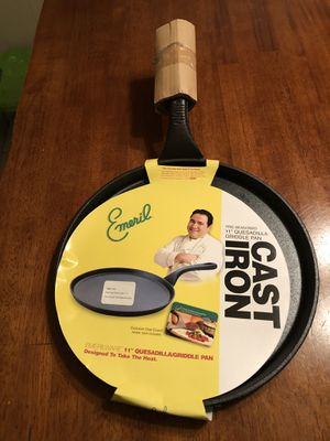 """Brand New Emeril 11"""" Cast Iron Pan for Sale in Gainesville, FL"""