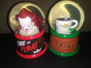Freinds TV Show & IT Movie ( Snow Globe) NEW for Sale in Colton, CA