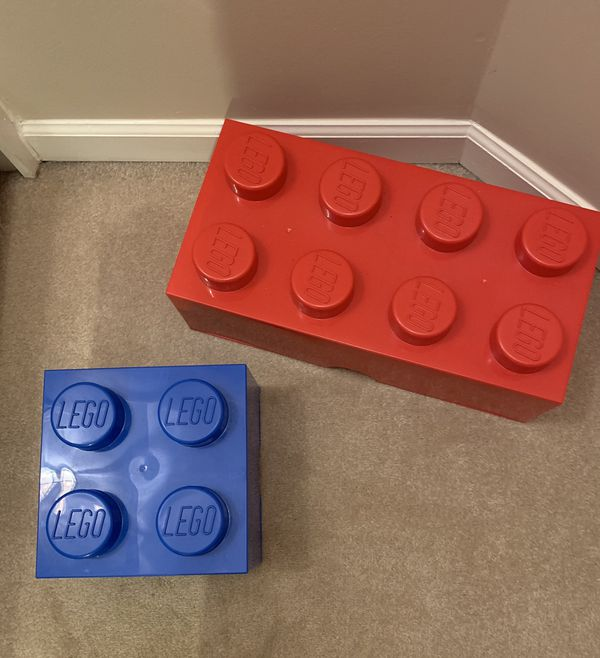 Stackable LEGO Storage Containers