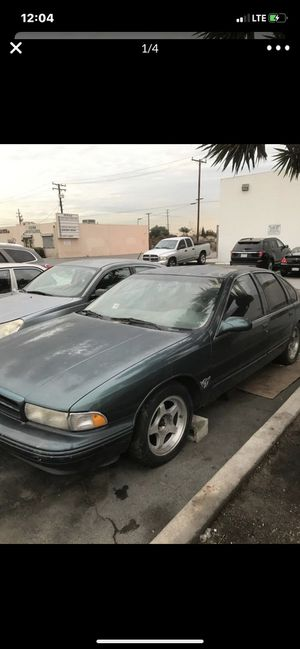 1995 Chevy impala SS for Sale in Long Beach, CA