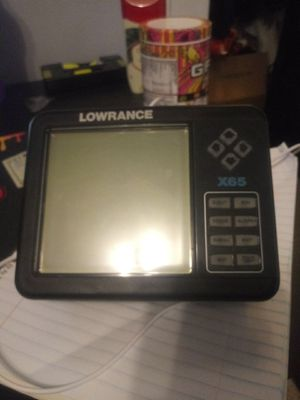 Lowrance X65 fish finder for Sale in Franklin, WI