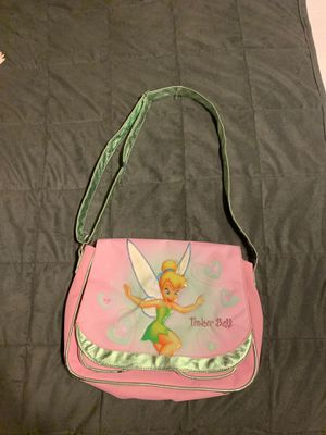 Pink TinkerBell messenger bag/purse for Sale in Rancho Cucamonga, CA