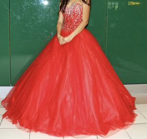 Red Quinceanera Dress For Sale for Sale in Eddington, PA