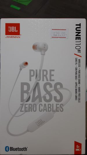 JBL Pure bass zero cables for Sale in San Angelo, TX