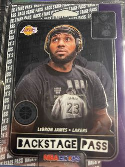 Lebron James NBA Hoops Backstage Pass for Sale in Rochester,  NY