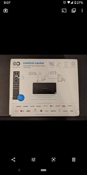 Caavo Control Center Home Theater Hub Universal Remote HDMI Switch for Sale in Orange, CA