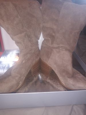Tan boots for Sale in Fontana, CA