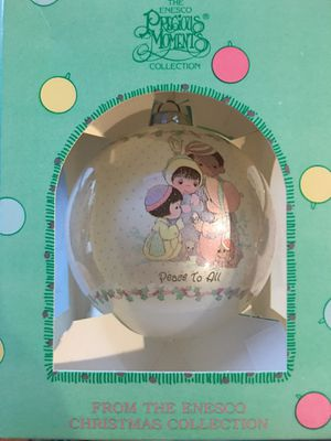 """From the Enesco Christmas Collection - Precious Moments Christmas Ornament """"Peace To All"""" - New for Sale in San Jose, CA"""