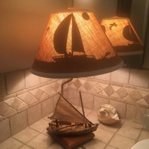 Vintage ship lamp for Sale in Costa Mesa, CA