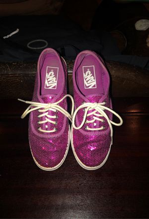Vans Purple/Pink Sequence Womens 5 for Sale in Corvallis, OR