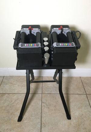 Power block 15 to 50 expandable dumbbells for Sale in Kissimmee, FL
