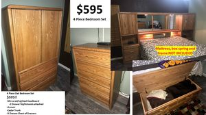 CRAZY DEAL!! $595 Bedroom Set Includes Mattress and Box Springs!! (Frame not included)... for Sale in Glendale, AZ