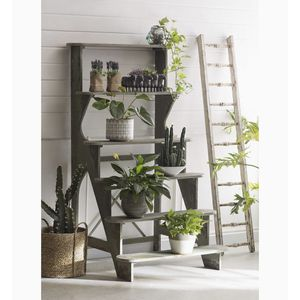 Creative Co-op Decorative Wood Ladder, Distressed White for Sale in Baltimore, MD