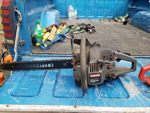 2 craftsman Chainsaw for Sale in Roy, WA