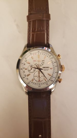 Seiko Chronograph Perpetual for Sale in Frederick, MD