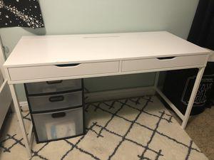 IKEA Alex Computer Desk - White for Sale in Glendora, CA