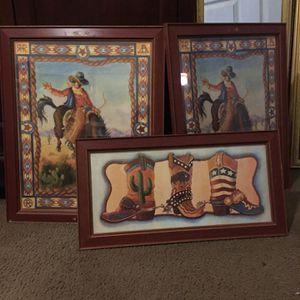 Vaquero Cuadro for Sale in Garland, TX