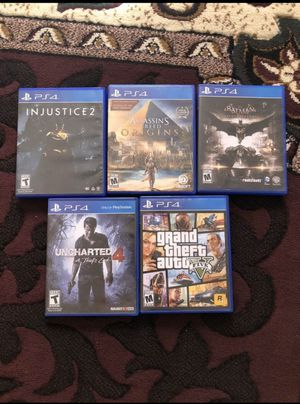 Ps4 games for Sale in Tucson, AZ